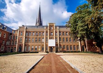 Exterior of Basilica. Sittard, Netherlands