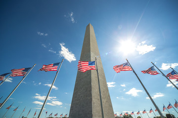 Washington Monument in Washington D.C.