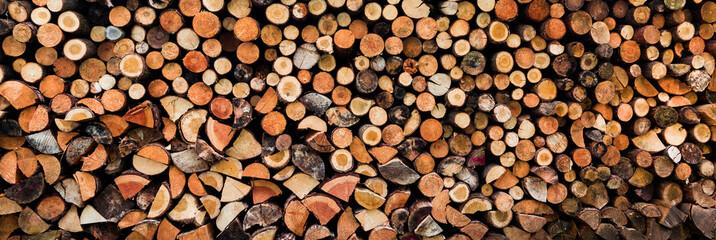 Kamin Holz für den Winter