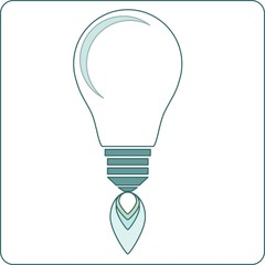 Start-up light Bulb Stock Vector