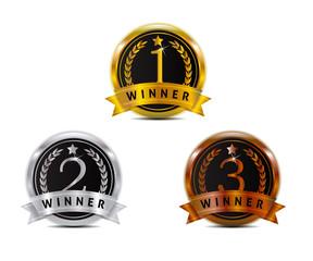 badge for winner