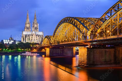 Foto op Aluminium Oude gebouw Dom in Köln, Deutschland