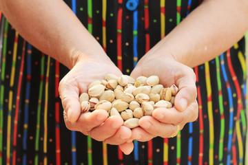 Pistachio nut.