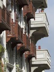 Traditionelles Wohnhaus in Dogancay bei Adapazari in der Türkei