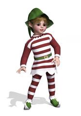 Cute Little Christmas Elf