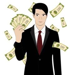 hold money