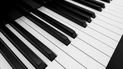 Piano keyboard loop