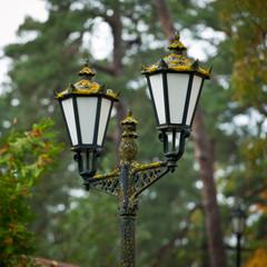 Street retro lamp