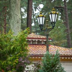 Street lamp, retro style