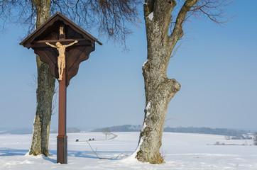 Kruzifix Wegkreuz