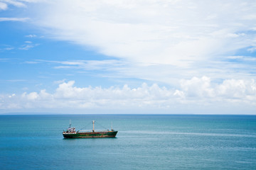 Rusty Ship in the Andaman Sea