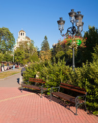 Park Benches in Sofia