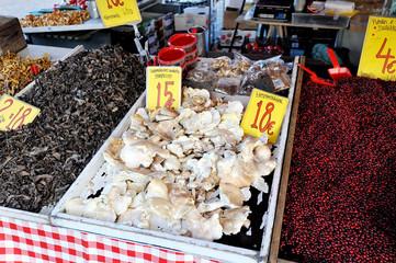 Helsinki, Finland, 28 September: Sunday market at the market squ
