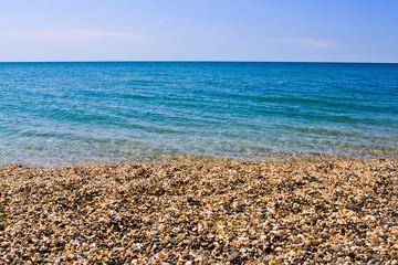 Море, берег
