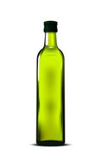 bottiglia di olio