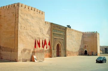 Fortress in Meknes