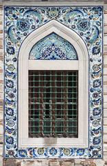 Tiles of Konak mosque in Izmir