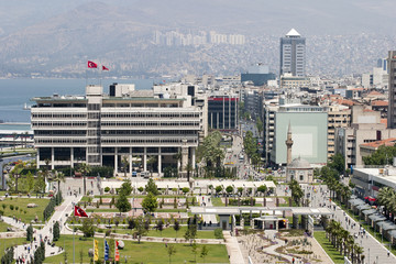 Konak square of Izmir, Turkey
