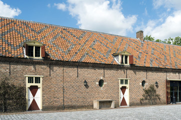 Carriage house belonging to Castle Ammersoyen.