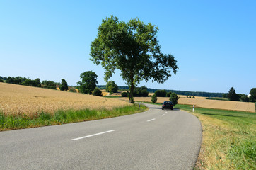 Landstrasse Kurve