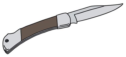 Clap knife
