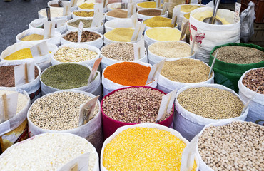 colorfull legumes