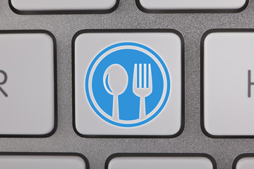 Online Food Ordering Keyboard