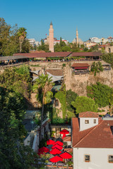 View of old town in Antalya, Turkey