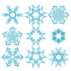 set of snowflakes3
