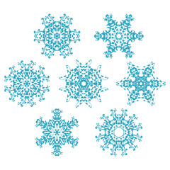 set of snowflakes1