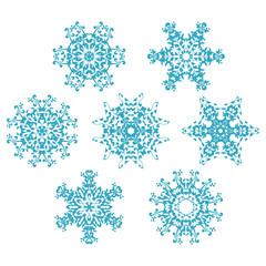 set of snowflakes1