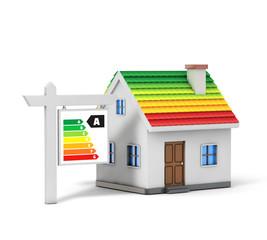 Green energy simple house