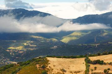 Peaceful rural landscape of Sardinia