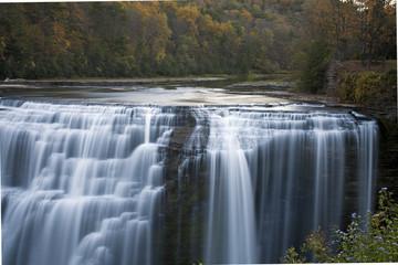 Lower Falls at Letchworth