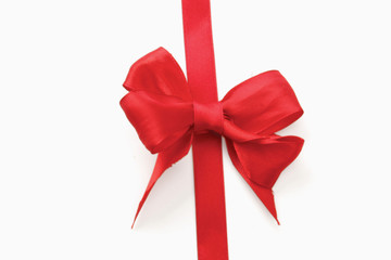 A red bow