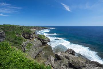 沖縄の海・喜屋武岬(キャンミサキ)