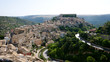 canvas print picture - Panorama von Ragusa