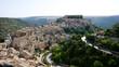 canvas print picture - Panorama von Ragusa