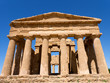 canvas print picture - griechischer Tempel in Agrigento