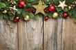 canvas print picture - Christmas decoration