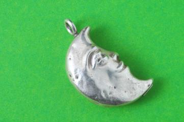 Half Moon Silver Jewel