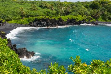 Beach at Wai'anapanapa, Maui