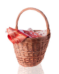 Big Basket with the Linen