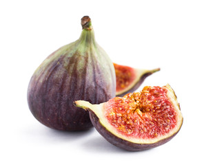 ripe figs close-up