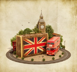 London traveling concept - 71424564
