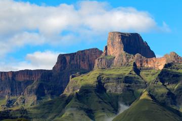High peaks of the drakensberg mountains