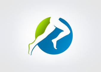 run, sport, athletic, speed,jump, health, symbol, icon, logo