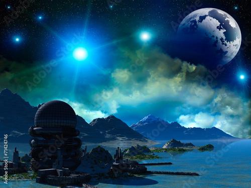 Fantasy landscape - 71424746