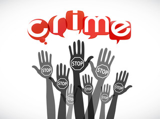 groupe mains : stop crime