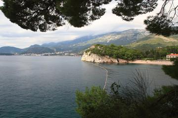 Adriatic coast. Montenegro